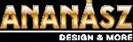 Ananász design shoprenter testreszabás webáruház készítés