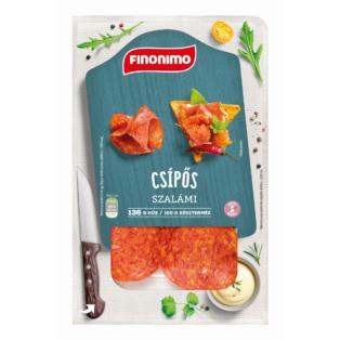 Finonimo Szalámi csípős szvg. 75g (10db/#)