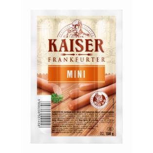 Kaiser Frankfurter mini 100g (20db/láda)