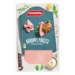 Finonimo baromfi párizsi szeletelt 0,075 kg