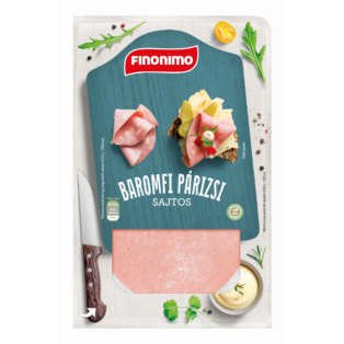 Finonimo baromfi párizsi sajtos 75g (15db/#)
