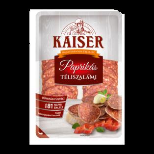 Kaiser Paprikás téliszalámi szel. vg. 75g (10db/#)