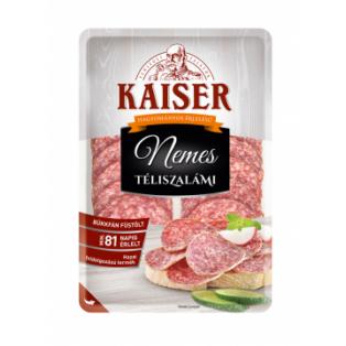 Kaiser Nemes Téliszalámi szel. vg. 75g (10db/#)