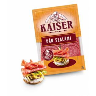 Kaiser Dán szalámi szvg. 75g (10db/#)