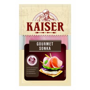 Kaiser Gourmet sonka szvg. 100g (10db/#)