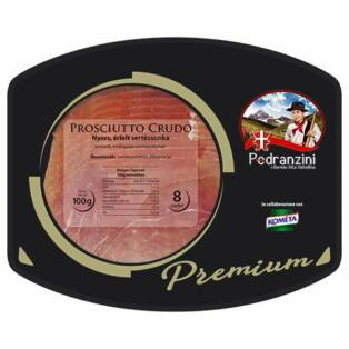 Pedranzini Selection Prosciutto crudo 100g szvg Kométa