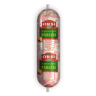 ORSI Klasszik Sajtos Párizsi 1400g