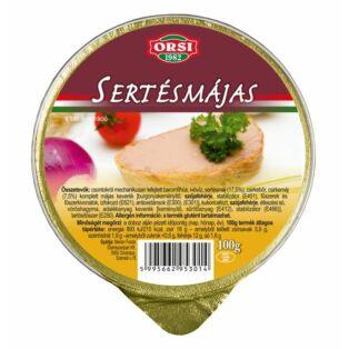 ORSI Sertésmájas 100g (20db/#)