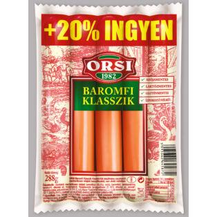 ORSI BaromfiKlasszik +20% INGYEN 240g (24db/#)