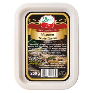 Tepertőkrém mustáros 0,25 kg Pápa