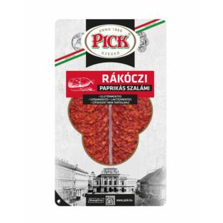Rákóczi paprikás szalámi szeletelt vg.70g (10db/#) Pick