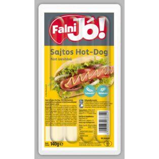 Falni jó! Sajtos, hot dog füst ízesítésű 140g (20db/#) Sága