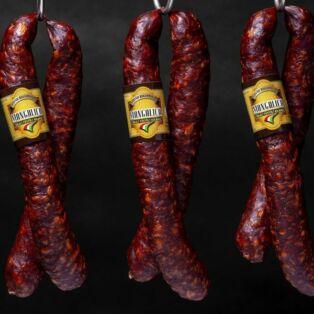 Mangalica füstölt kolbász kb.350g/pár Szilváshús