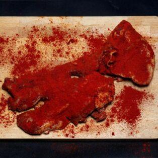 Paprikás főtt sertés fej kb.1000g Szilváshús