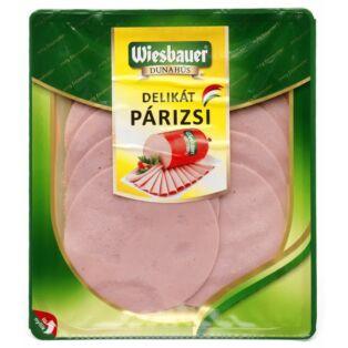 Delikát párizsi szel. vg. 80g (10db/#) Wiesbauer