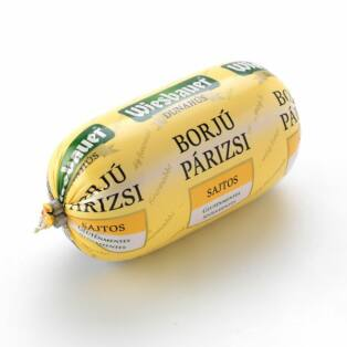 Sajtos borjú párizsi 300g Wiesbauer