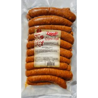 Sütnivaló grillkolbász /juhbeles/ vf.kb.1000g Zádor