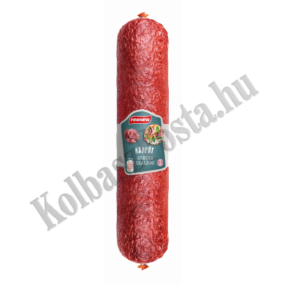 Finonimo Kárpát szalámi kb.900g (15db/láda)