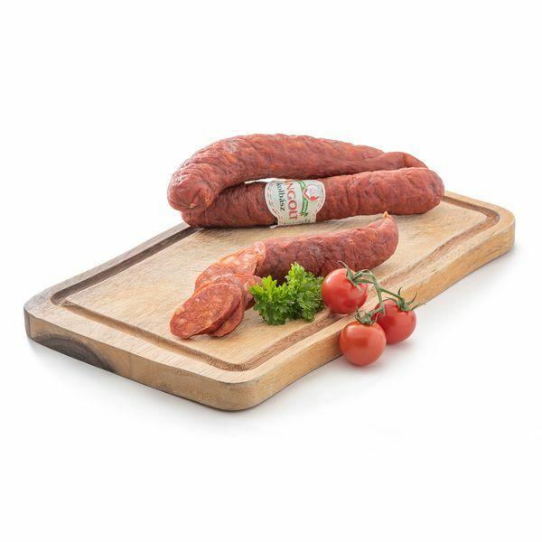 Lángolt kolbász vg. kb.1200g Bognár Hús (8db/#)