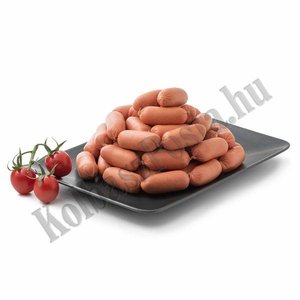 Frankfurti virsli KOKTÉL vg. kb.1500g Bognár Hús (9db/#)