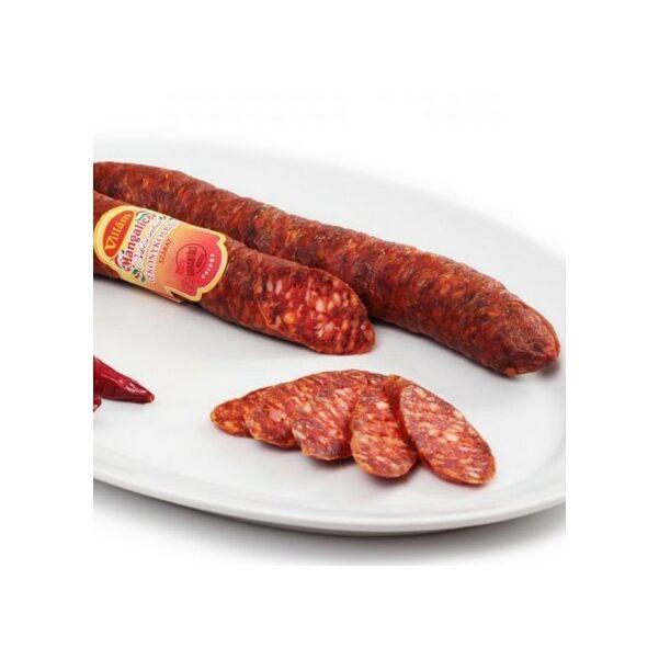 Villám mangalica vékonykolbász csípős kb.350g Ízgyűjtő (2,5kg/#)