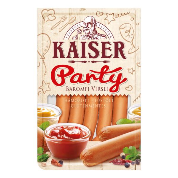 Kaiser party baromfi virsli 500g (10db/#)
