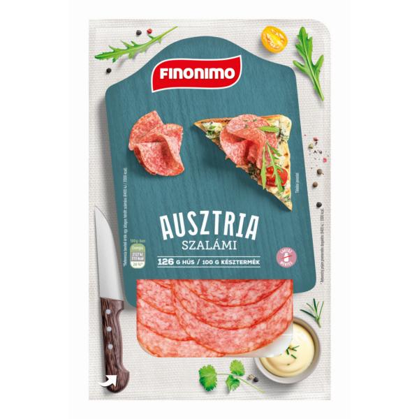 Finonimo Ausztria szalámi szvg. 0,075 kg