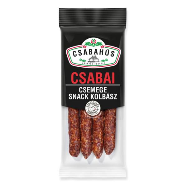 Csabai Snack kolbász csemege vg. 100g (60db/láda)