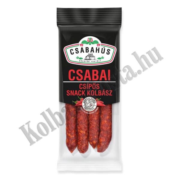 Csabai Snack kolbász csípős vg. 0,1 kg