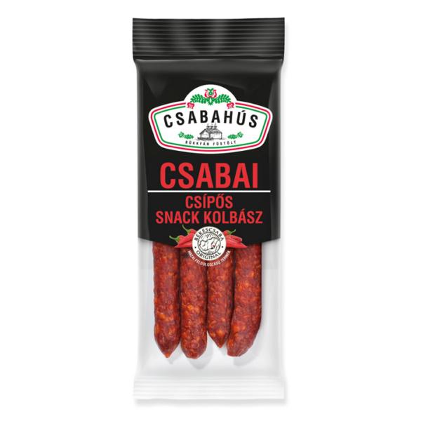 Csabai Snack kolbász csípős vg. 100g (60db/láda)