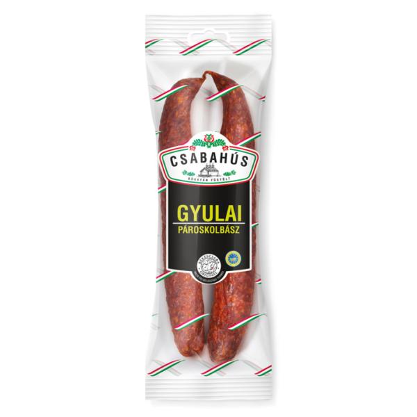 Gyulai Pároskolbász vg. 250g (30db/láda) Csabahús