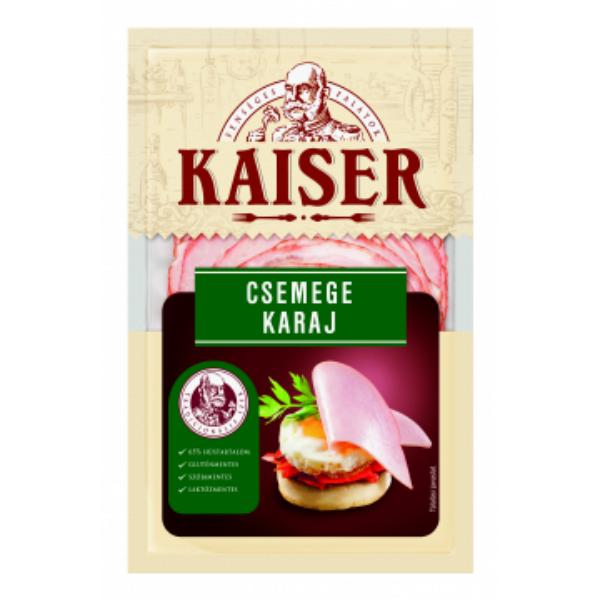 Kaiser Csemege füstölt karaj szvg. 100g (10db/#)