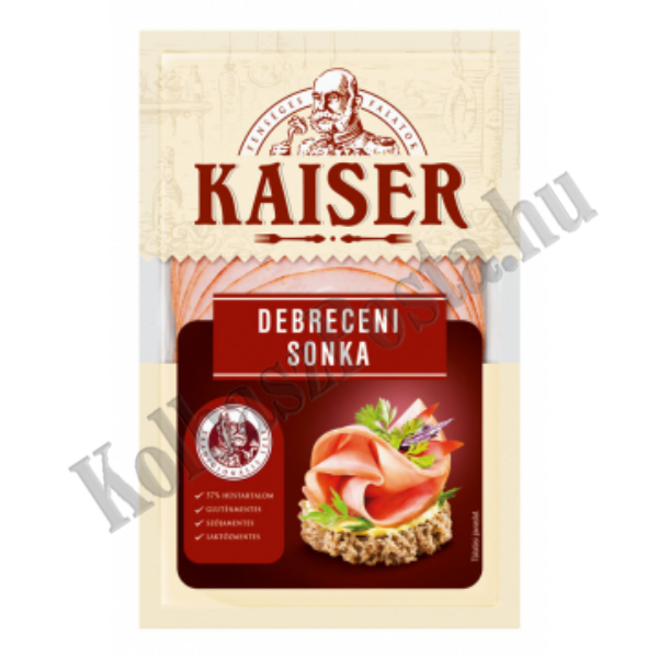 Kaiser Debreceni sonka szvg. 100g (10db/#)
