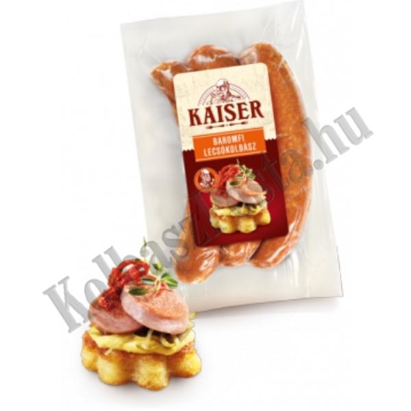 Kaiser Lecsókolbász baromfi vf. 0,4 kg