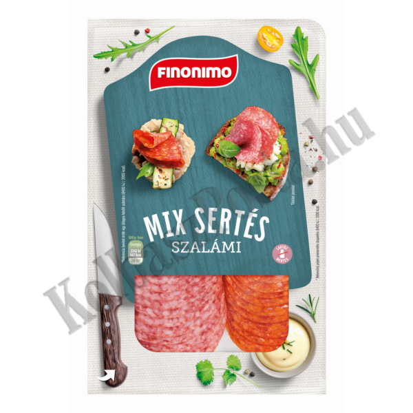 Finonimo Szalámi mix szvg. 75g (10db/#)