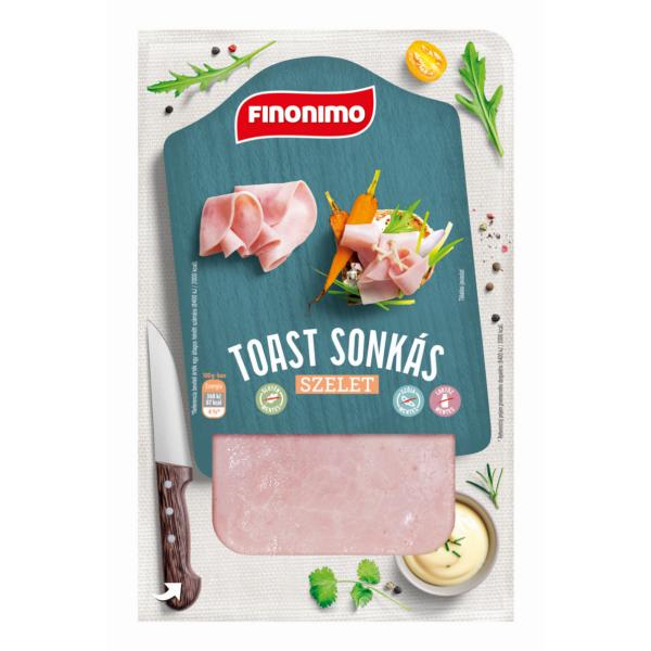 Finonimo Toast sonkás szel. vg. 100g (15db/#)