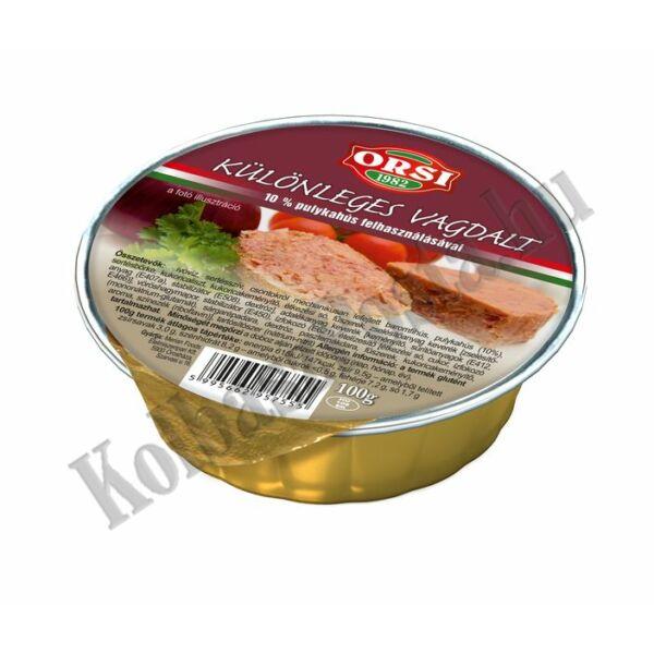 ORSI Különleges Vagdalt 10% Pulykahússal 100g (20db/#)