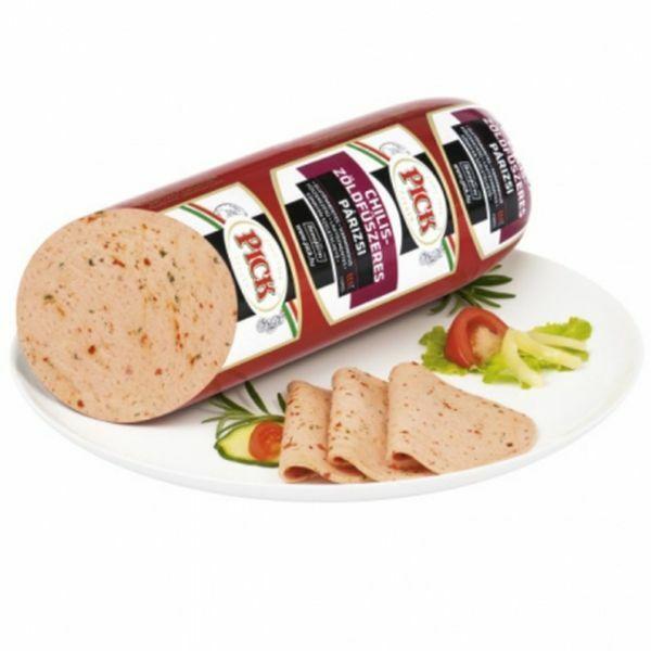Chilis-zöldfűszeres párizsi 2200g Pick