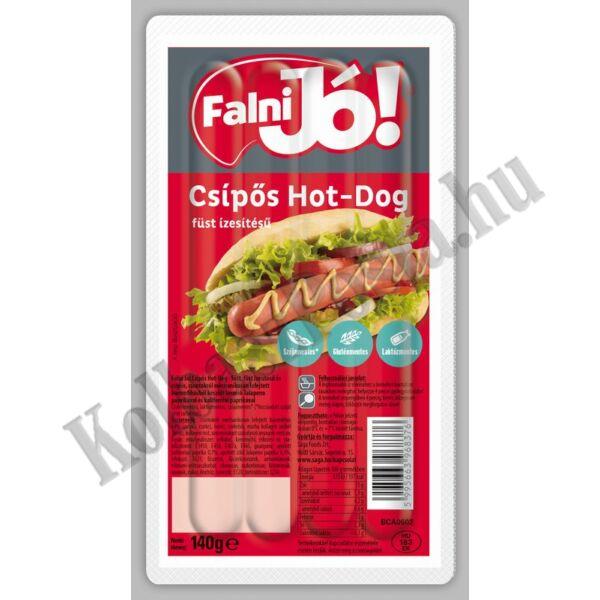 Falni jó! Csípős, hot dog  füst ízesítésű 140g (20db/#) Sága