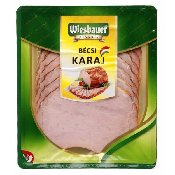 Bécsi karaj szel. vg. 80g (10db/#) Wiesbauer